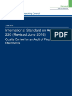 ISA (UK) 220 Revised June 2016