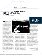 The Importance of Training.pdf