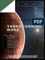 Terraforming Mars - HM 102 Assignment Final