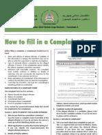 AFGHANISTAN Electoral Complaints Comission 2010 Factsheet 4