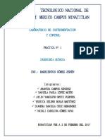 Reporte 1 Instrumentacion y Control