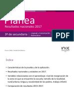 Resultados Nacionales Planea2017