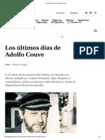 Los Últimos Días de Adolfo Couve