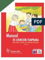 Manual de Atencion Temprana Para Niños Con Sindrome de Down (2da Edicion Chile)