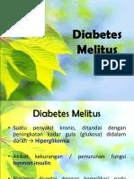 Presentasi DIABETES MELITUS - Terbaru Juga