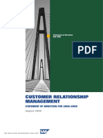 SAP CRM - Statement of Direction for 2006 - 2008 (A4)