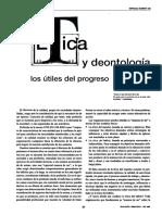 Ética y Deontología- Los Útiles Del Progreso