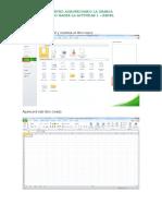 Como Hacer La Actividad 1- Excel