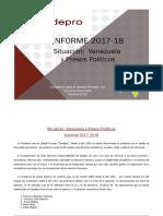 Informe Presos Politicos Venezuela 2017