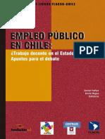 Empleo público en Chile ¿Trabajo decente en el Estado? Apuntes para el debate
