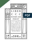 Liber CCC, Khabs Am Pekht.