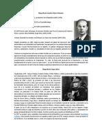 Biografía de Jacobo Arbenz Guzmán