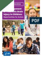 The Management of Traumatic Brain Injury in Children