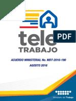 Acuerdo Teletrabajo WEB