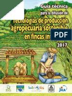 Guía Técnica Para La Difusión de Tecnología de Producción Agropecuaras Sostenibles en FIncas integrales