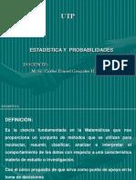 Estadística y Probabilidades (1)