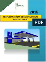 Gasolinera Uno Proyecto