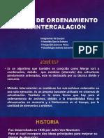 MÉTODO DE ORDENAMIENTO POR INTERCALACIÓN