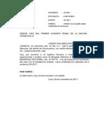Solicito Copia Certificada