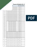 Course List Jukjeon