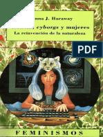 Haraway - Ciencia Cyborgs y Mujeres (1)