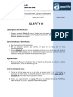 3. Especificaciones Clarity®