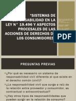 Sistemas de Responsabilidad de La Ley Del Consumidor Chile
