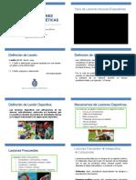 Clase 1.1 de Lesiones Deportivas