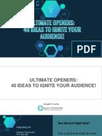 Ultimate Openers
