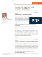 Gaspar - Management Aspects of Road Pavement Rehabilitation