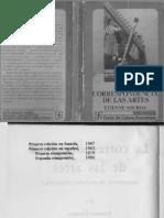Souriau, Etienne. 1986. La Correspondencia de Las Artes. Fondo de Cultura Economica.
