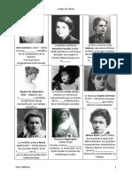 Juego de Cartas Mujeres Para Completar
