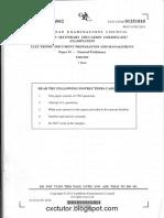 EDPM - Paper 01 - Cxctutor.blogspot.com