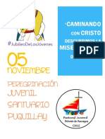 13 Peregrinacion Juvenil Santuario de Puquillay 2016