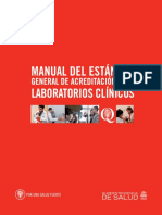 Manual Estándar Para Laboratorio Clinico