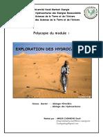 Exploration Des Hydrocarbures