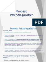 Proceso Psicodiagnóstico