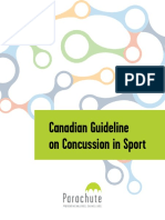 canadian guideline on concussion in sport-parachute