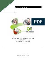 PSBCE12XX-K8 Installation & User Guide Sp Final Sept2009