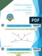 Universidad Tecnológica Israel Electrónica Digital Clase1