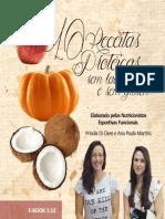 10 Receitas Proteicas Sem Glutem e Sem Lactose