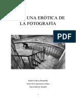 Hacia Una Erótica de La Fotografía.