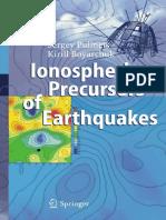 Pulinets Boyarchuk Ionospheric Precursors of Earthquakes (1)