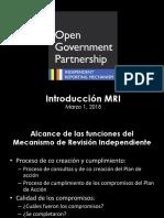 Introducción al MRI Español