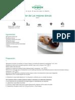 Recetario Thermomix® - Vorwerk España - Clon de Los mejores donuts - 2011-10-27