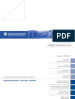 Water Technology - Products and Services