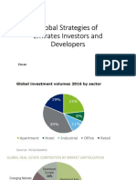 Global Strategies of Emirates Investors and Developers