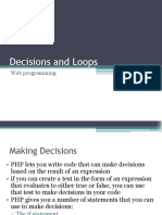 3. Decisions and Loops