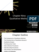 Chapter 9 - Qualitative Methods