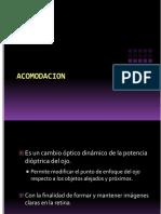 6.4 Zónula y Fisiología de La Acomodación